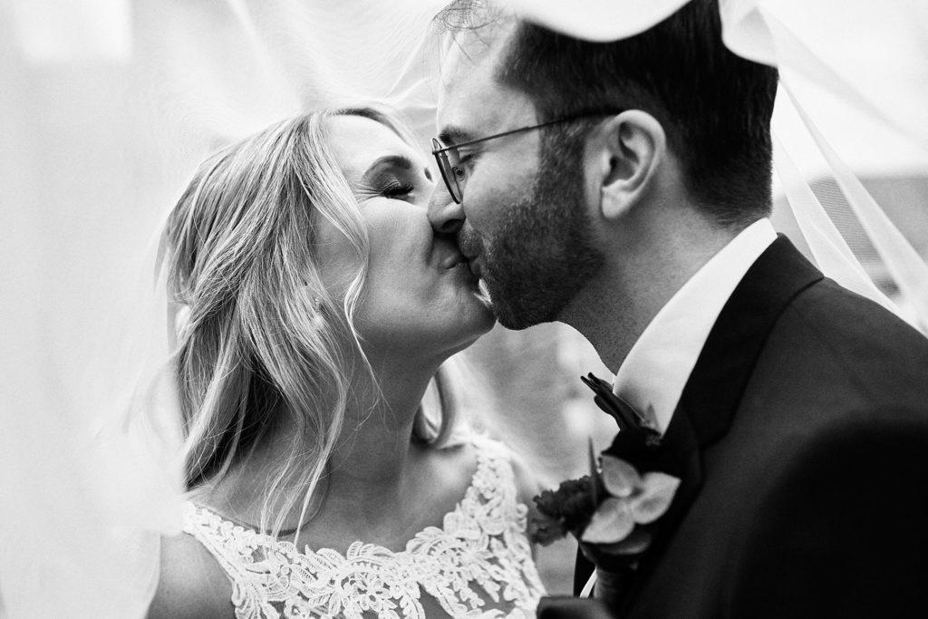 Brautpaar Schleierfoto