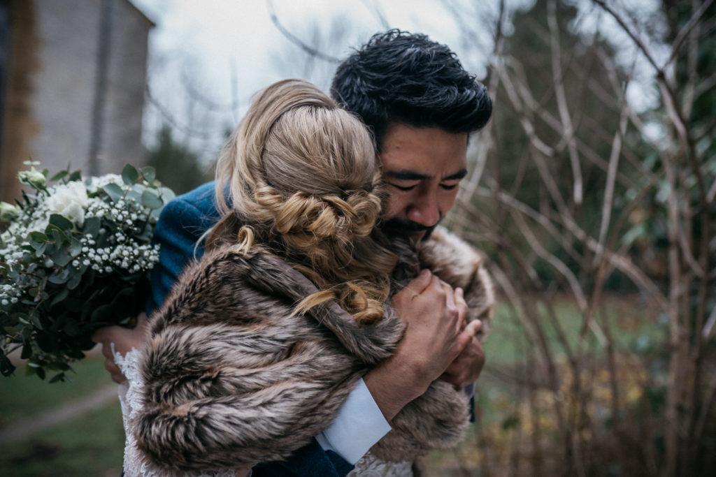 Hochzeit verschieben Winterhochzeit First Look